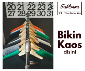Sablon Kaos Dtg Jakarta