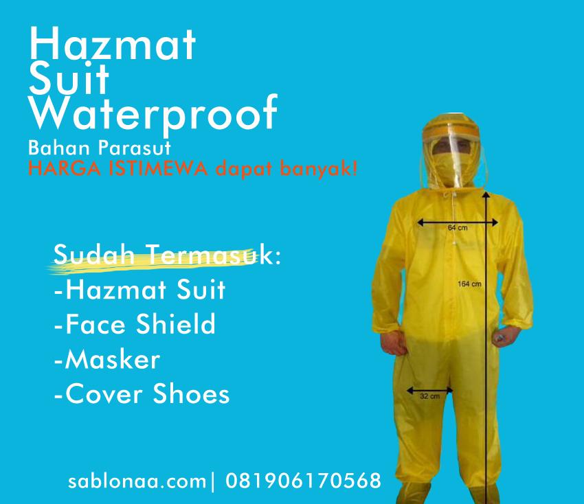 Jual Baju APD Hazmat Suit Murah di Tangerang Selatan